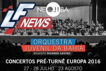 Orquestra Juvenil da Bahia apresenta no TCA repertório da Turnê Europa