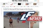 A imprensa internacional está perplexa com as sungas brasileiras