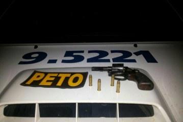 PM de Lauro prende três homens que estavam praticando assaltos na cidade com carro roubado