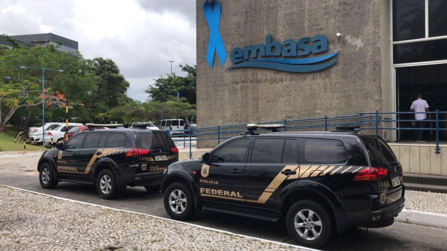 Operação Águas Limpas: PF cumpre mandados de busca e apreensão na Embasa