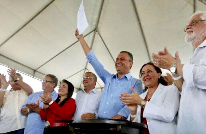 Rui autoriza início das obras do Hospital Metropolitano em Lauro de Freitas