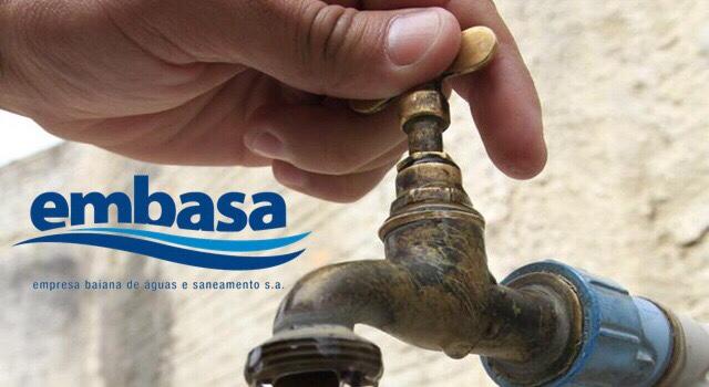 Rompimento da rede geral da Ceasa deixa moradores Lauro de Freitas sem água nesta segunda (08)
