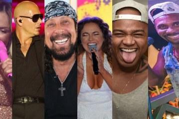 Claudia Leitte, Pitbull, Bell e Daniela Mercury desfilam nesta quinta de carnaval, abertura oficial da folia de Salvador. Confira programação