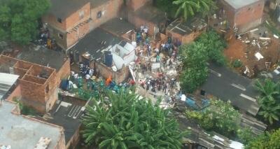 Pituaçu: mortes em tragédia sobem para quatro, após corpos de mãe e bebê serem encontrados