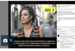 Imprensa estrangeira repercute o assassinato da vereadora Marielle Franco