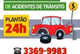 SETTOP disponibiliza número para serviço de ocorrência de acidentes de trânsito 24h
