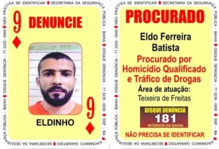 Baralho do Crime da SSP é atualizado com oito novas cartas