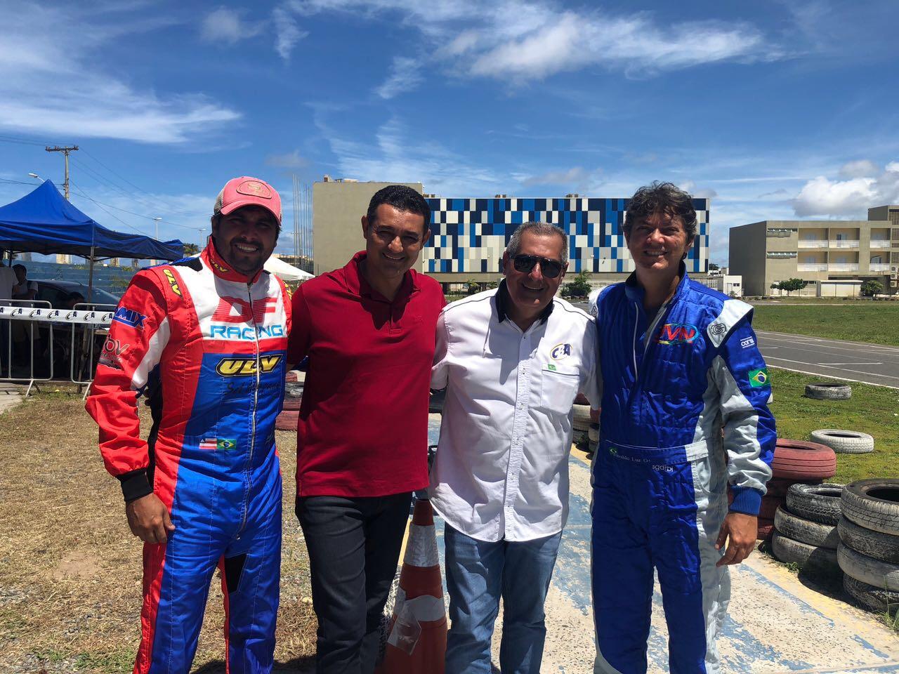 Alexandre Marques prestigia a 1ª etapa do Campeonato Baiano de Kart 2018