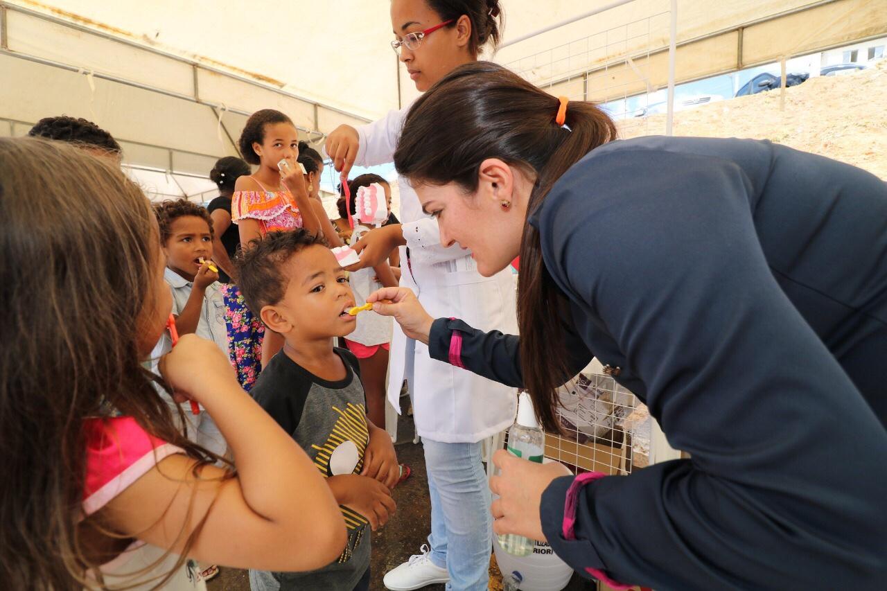 Feira leva saúde e prevenção para população em Lauro de Freitas
