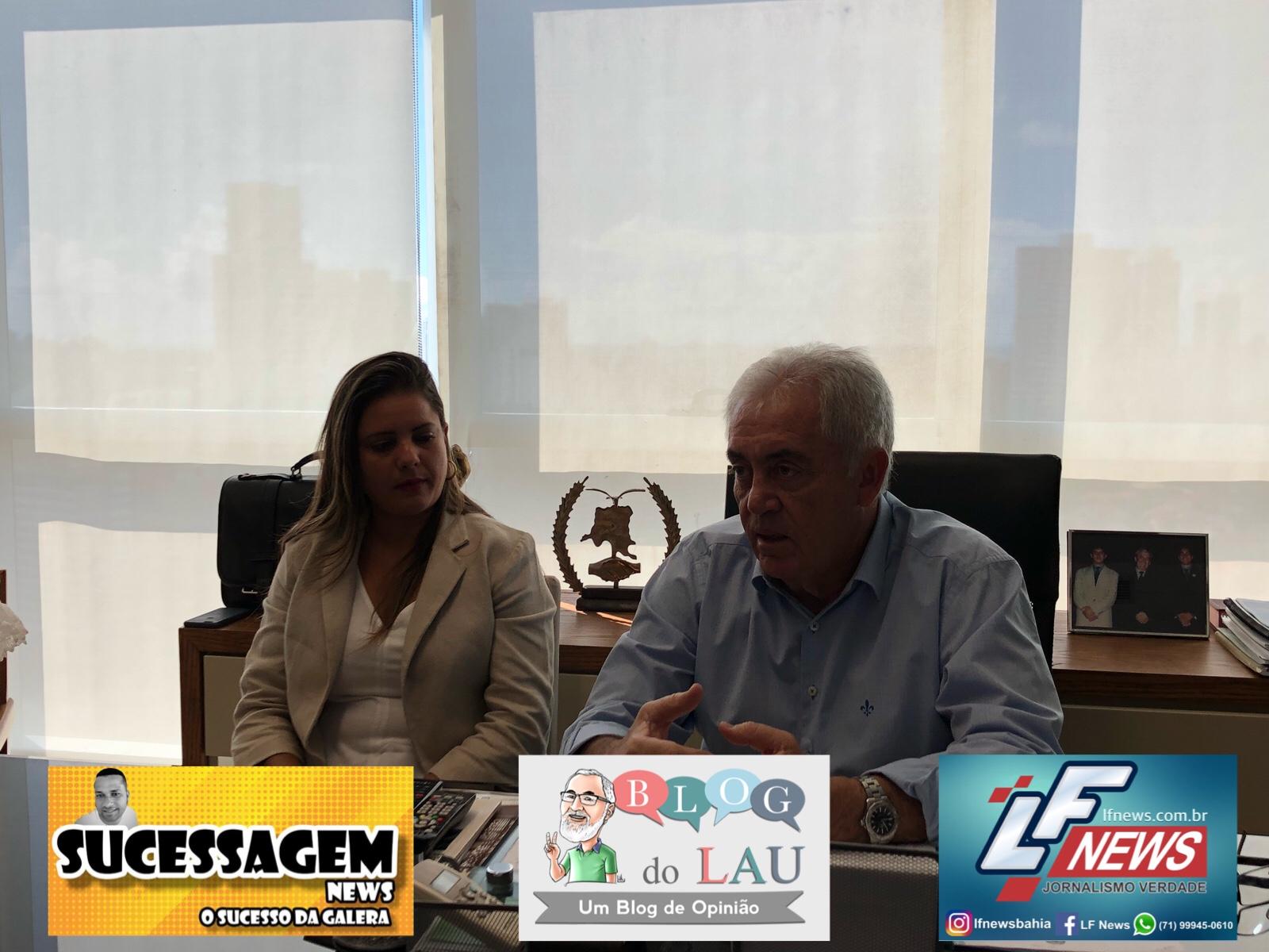 Otto anuncia deputada Mirela como sua candidata em Lauro de Freitas