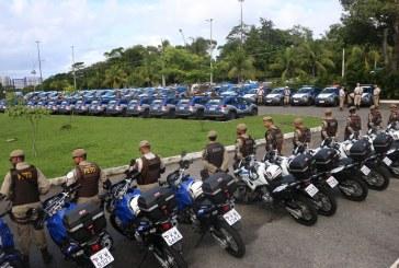 Rui investe em segurança e entrega 461 veículos à PM