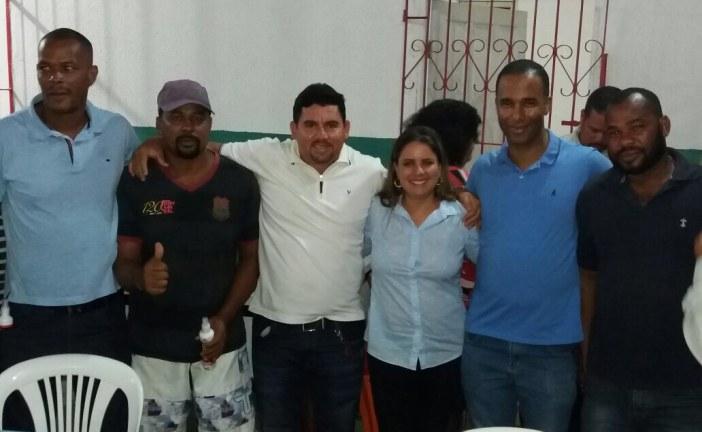 Alex Simões marca presença em reunião de Mirela na Associação de Moradores do Parque São Paulo