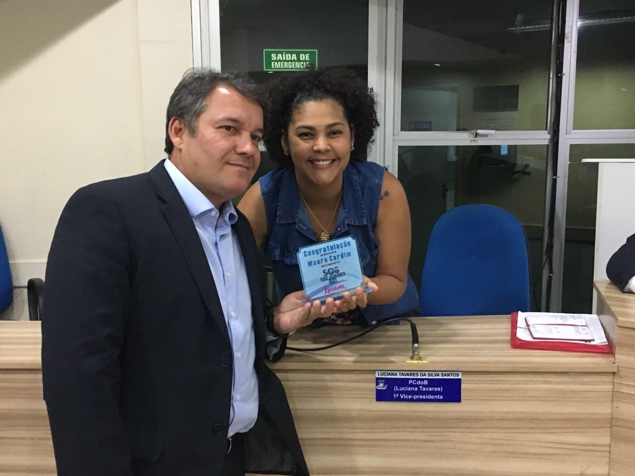 Câmara de Vereadores de Lauro de Freitas reconhece trabalho executado por Mauro Cardim