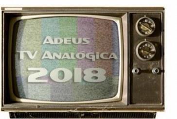 Sinal analógico de TV será desligado nesta quarta em sete capitais