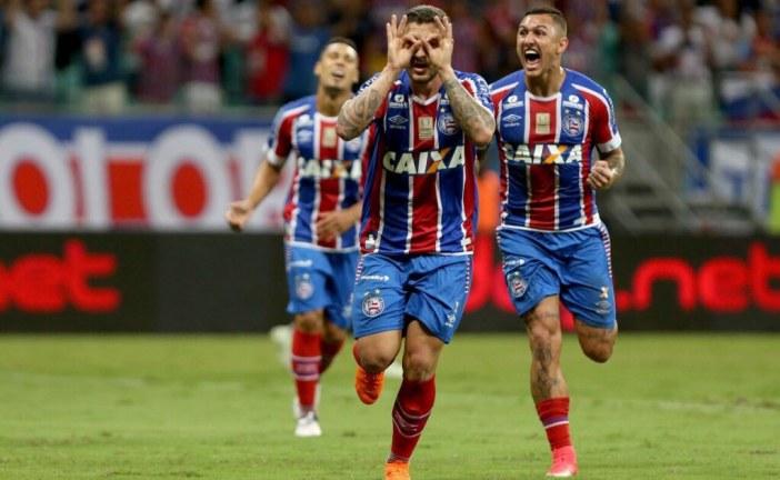 Bahia tenta primeiro triunfo fora de casa contra o Palmeiras