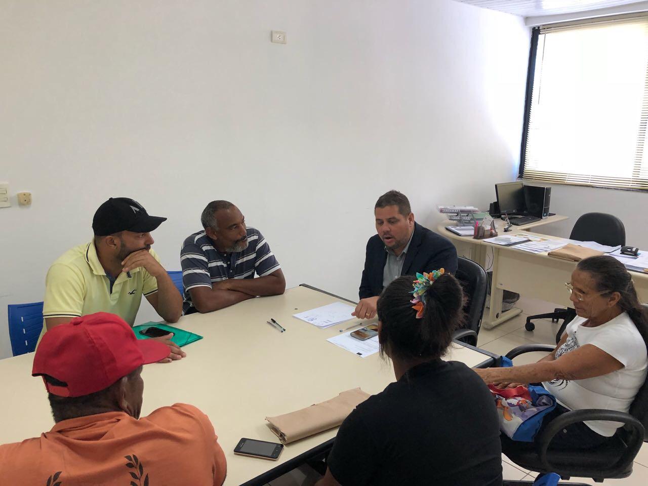 Capitão Olinto gerencia crise em terreno Quilombola, que de acordo com os moradores foi invadido