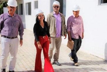Moema visita obras do novo PA do Centro