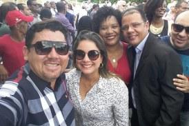 Alex Simões marca presença na inauguração da Via Metropolitana