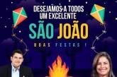 Alex Simões deseja a todos um excelente São João