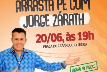 Lauro de Freitas recebe o projeto Sanfona do Hexa com Jorge Zárath nesta quarta-feira