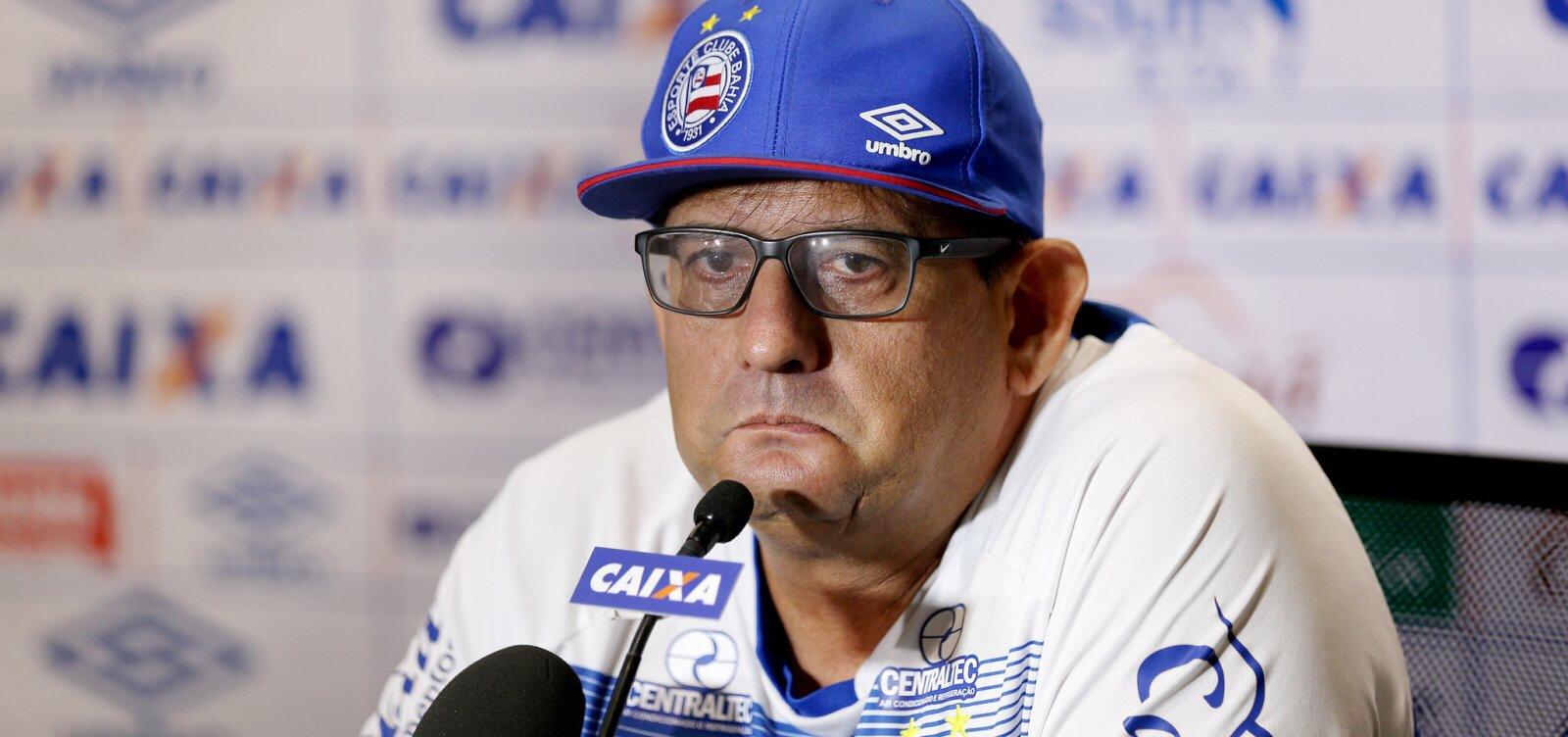 Bahia demite Guto Ferreira após derrota para o Grêmio