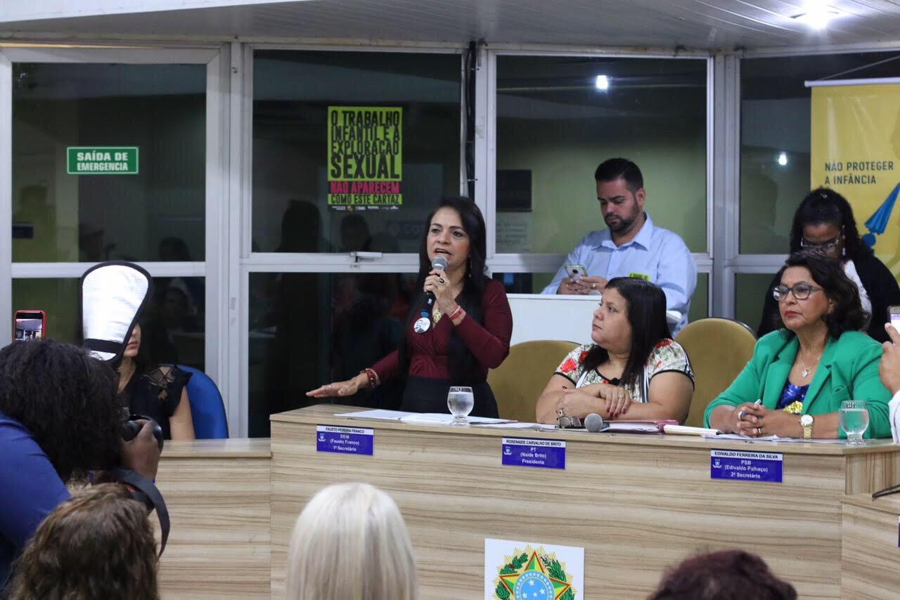 Sessão abordou abuso e exploração sexual contra criança e adolescente