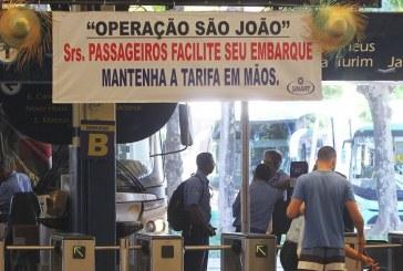 Rodoviária terá 600 horários extras para o São João