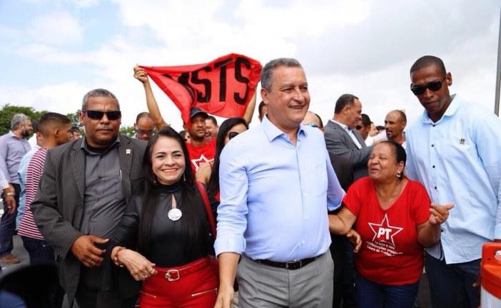 Rui e Moema inauguram Via Metropolitana em Lauro de Freitas