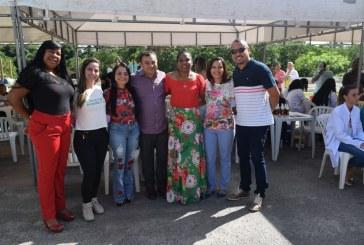 Ação de saúde e cidadania em Vila Nova de Portão foi sucesso total e contou com a presença da prefeita Moema Gramacho; parabéns aos envolvidos