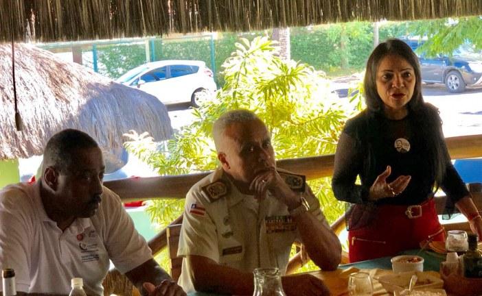 Encontro de Comandantes da RMS aconteceu nesta quinta, (12) em Lauro de Freitas