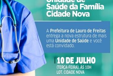 Prefeitura inaugura nova sede da USF Cidade Nova nesta terça (10)