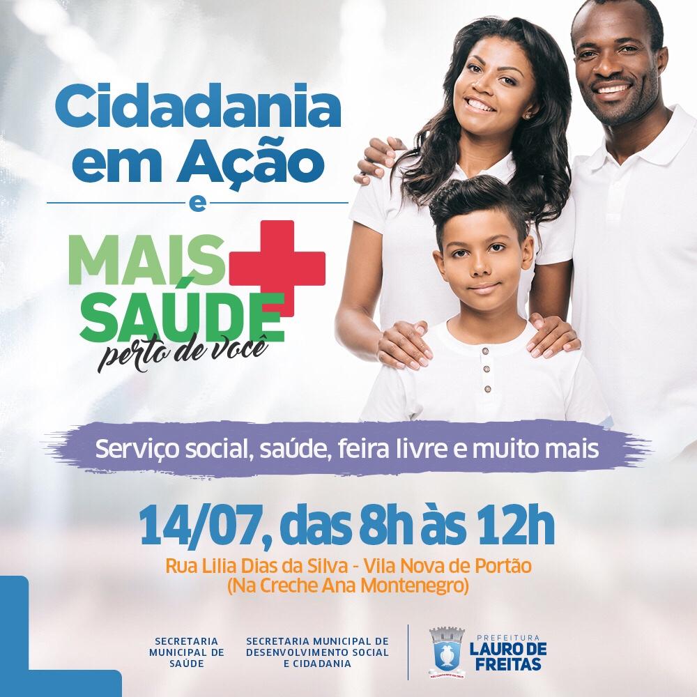 Prefeitura leva ações de cidadania e saúde a Vila Nova de Portão