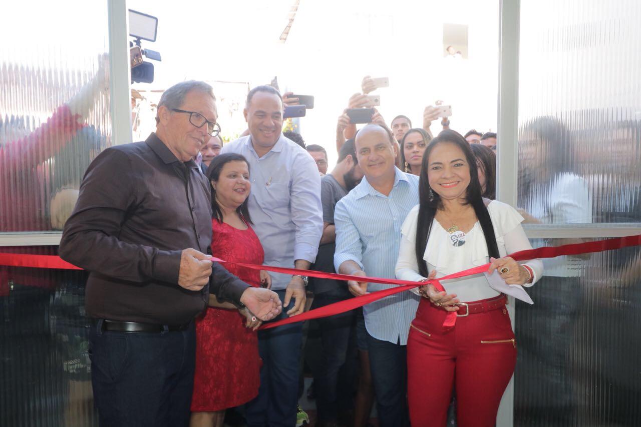Moema inaugura mais Unidade de Saúde