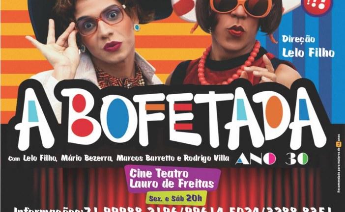 Lauro de Freitas recebe mais uma vez a peça: 'A Bofetada'