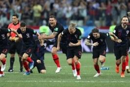Nos pênaltis, Croácia bate a Dinamarca e enfrenta a Rússia nas quartas