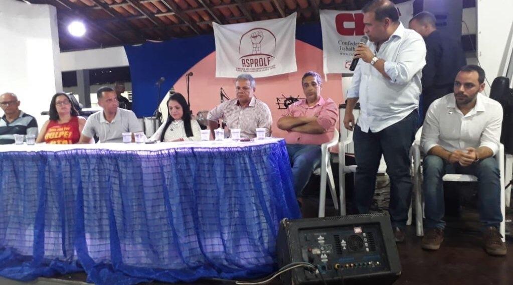 Moema festeja com Asprolf valorização da categoria no município