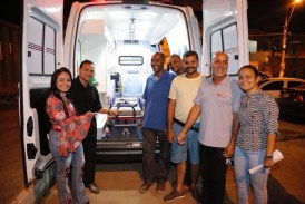 Moema destina ambulância ao Posto de Saúde de Vida Nova, que será equipada para fazer atendimentos de UTI