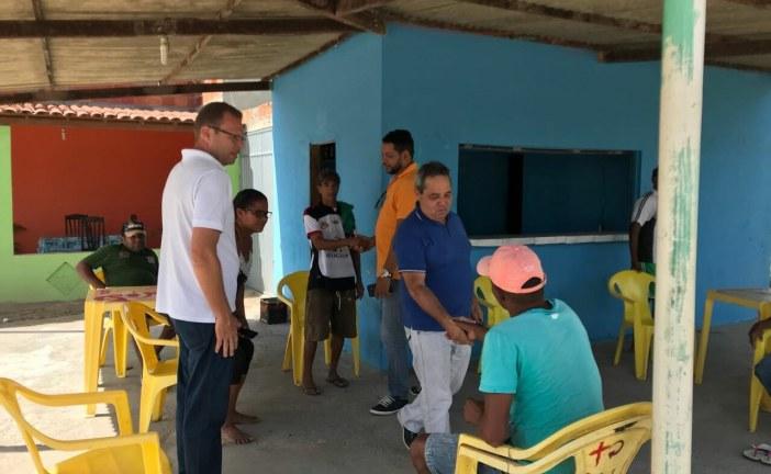 Sérgio Gomes cobra funcionamento de agência do INSS em Coração de Maria