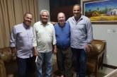 Vereador César esteve na casa do vice-governador, João Leão