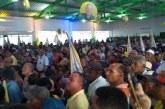 Em Ipirá, diante de uma multidão, Jurandy Oliveira lança campanha