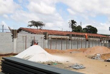 Obras do Centro de Iniciação ao Esporte em Lauro de Freitas avançam