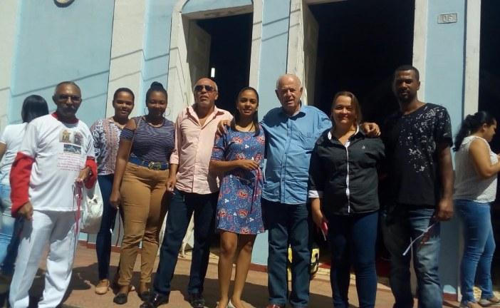 Teodoro Sampaio: Jurandy Oliveira participa da Festa de São Roque em Buracica
