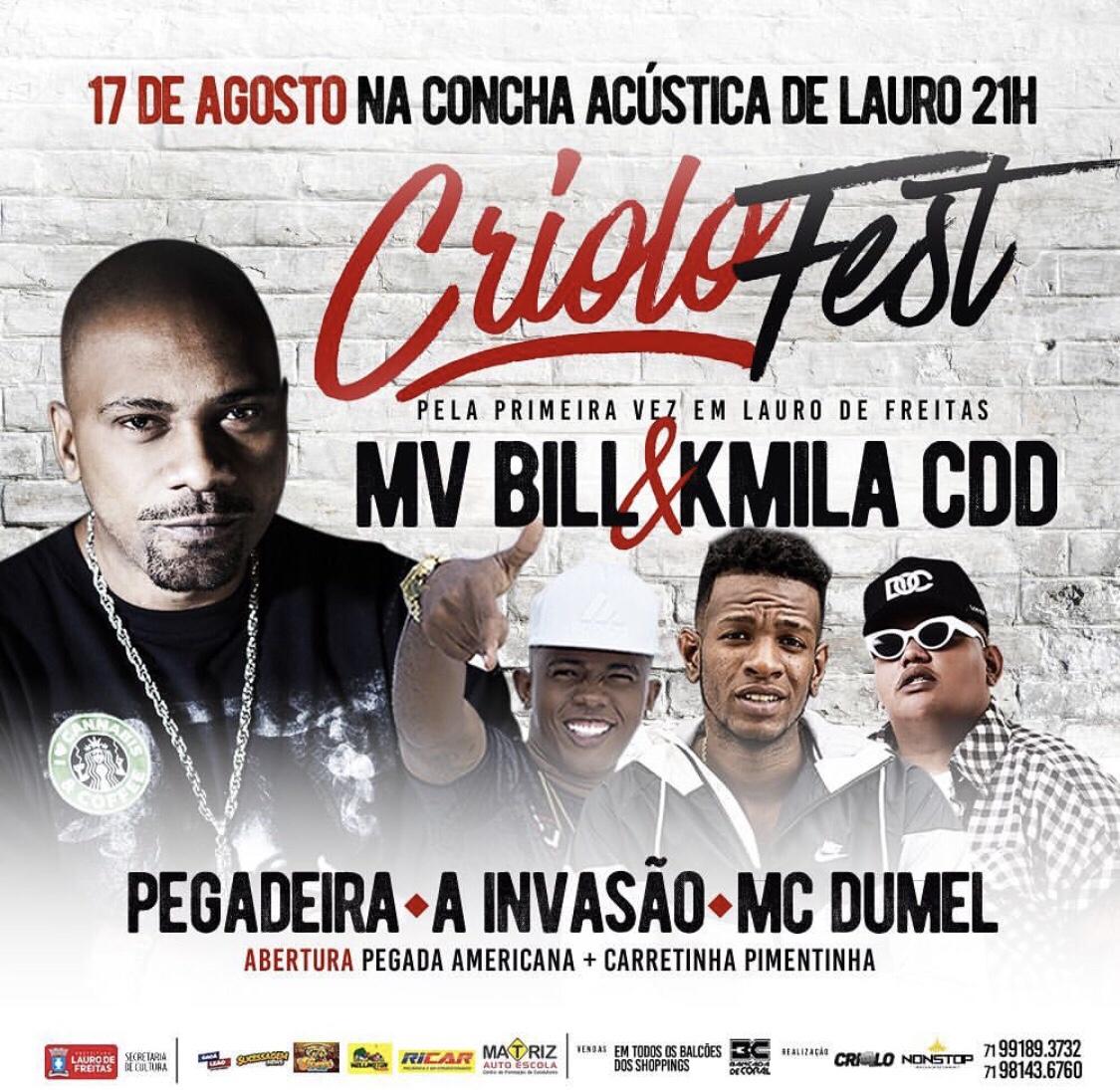 De volta a festa de maior sucesso entre os jovens de Lauro de Freitas! Criolo Fest